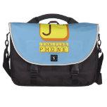 J JENNIFER'S PHONE  Laptop Bags