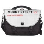Mount Street  Laptop Bags