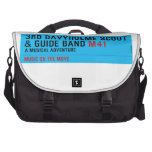 3rd Davyhulme Scout & Guide Band  Laptop Bags