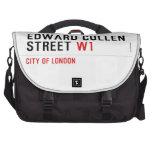 Edward Cullen Street  Laptop Bags