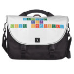 welcome  back love chemistry  Laptop Bags