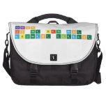 Carbon  is the sixth most  abundant element  Laptop Bags