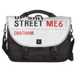 Up Shit Street  Laptop Bags