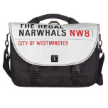 THE REGAL  NARWHALS  Laptop Bags