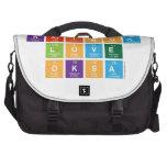 Karissa Love Oksa  Laptop Bags