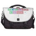 Ich Vermisse Dich!   Laptop Bags