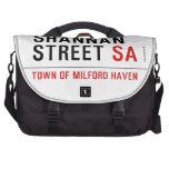 Shannan Street  Laptop Bags