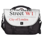 Evil twin Street  Laptop Bags