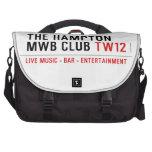the Hampton  MWB Club  Laptop Bags
