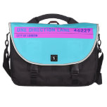 One Direction Lane   Laptop Bags