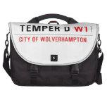 TEMPER D  Laptop Bags