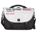 GiGi savge   Laptop Bags