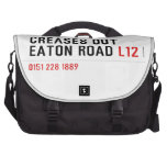 Creases Out Eaton Road  Laptop Bags