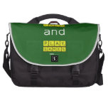 KEEP CALM and PLAY GAMES  Laptop Bags