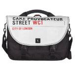 CAKE PROVOCATEUR  STREET  Laptop Bags