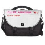 Chloe annison   Laptop Bags