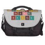 Periodic Table Writer  Laptop Bags