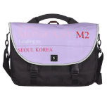 I Love MONiCA.SY  Laptop Bags