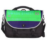 Capri Mickens  Swagg Street  Laptop Bags