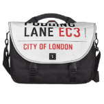 PUDDING LANE  Laptop Bags