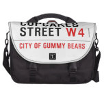 cupcakes Street  Laptop Bags