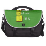 Game Letter Tiles  Laptop Bags