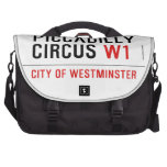 piccadilly circus  Laptop Bags