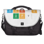 what's  up?  Laptop Bags