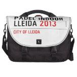 PADEL INDOOR LLEIDA  Laptop Bags