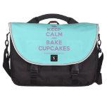[Cupcake] keep calm and bake cupcakes  Laptop Bags