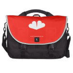 [Two hearts]  Laptop Bags