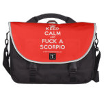 [Crown] keep calm and fuck a scorpio  Laptop Bags