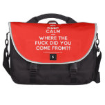 [Crown] keep calm and where the fuck did you come from?!  Laptop Bags