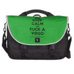 [Feet] keep calm and fuck a virgo  Laptop Bags