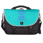 [Knitting crown] faith trust and pixie dust  Laptop Bags