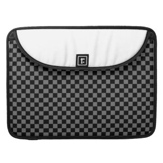 Laptop Case- Black and Grey Pattern Sleeve For MacBook Pro