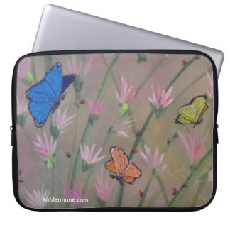 "Laptop Case - ""Butterflies Are Free"""