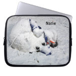 Laptop Case  Dying Snowman Laptop Computer Sleeves