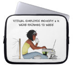 Laptop case for virtual workers laptop sleeve