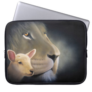 laptop case lion and it Lam Computer Sleeve