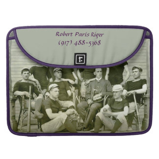 "Laptop case to fit 15"" - Vintage Baseball Images"