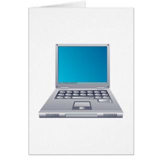 Laptop Computer Greeting Card