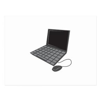 LAPTOP COMPUTER POSTCARD