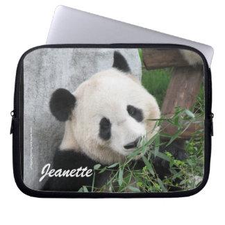 Laptop Computer Sleeve Cute Giant Panda Photo