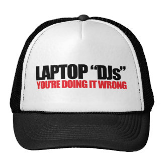 Laptop DJs Trucker Hat