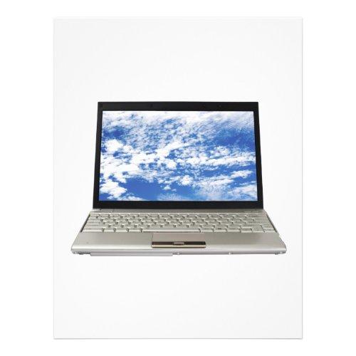 Laptop flyer