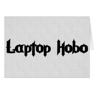 Laptop Hobo Card