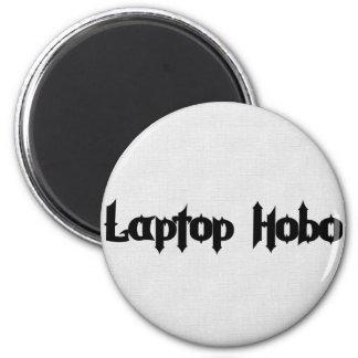 Laptop Hobo Magnet