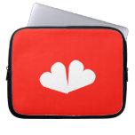 [Two hearts]  Laptop/netbook Sleeves Laptop Sleeves
