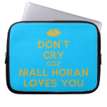 [Two hearts] don't cry coz niall horan loves you  Laptop/netbook Sleeves Laptop Sleeves